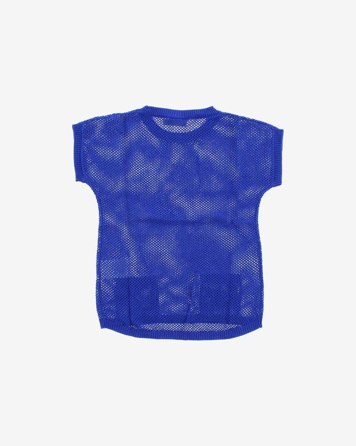 Modrý dívčí svetr Geox - velikost 116