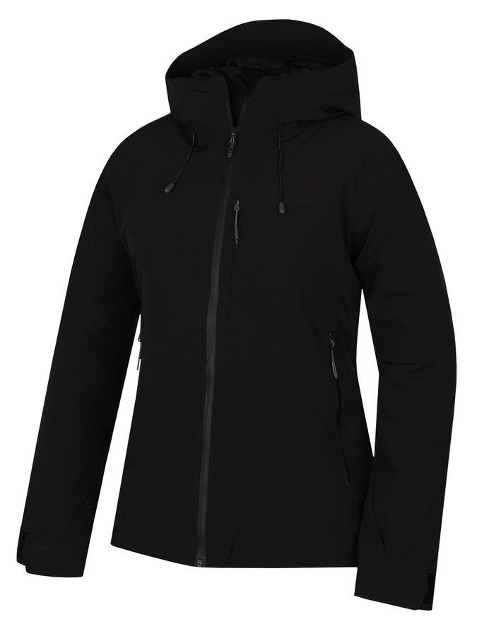 Černá hardshellová dámská bunda Husky