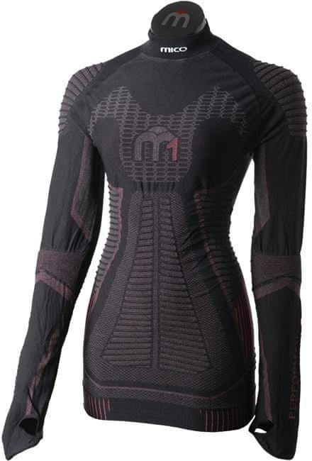 Černé dámské funkční tričko Mico - velikost L
