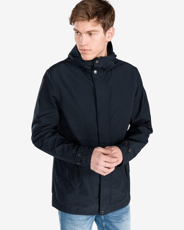 Modrá pánská bunda - větrovka Geox