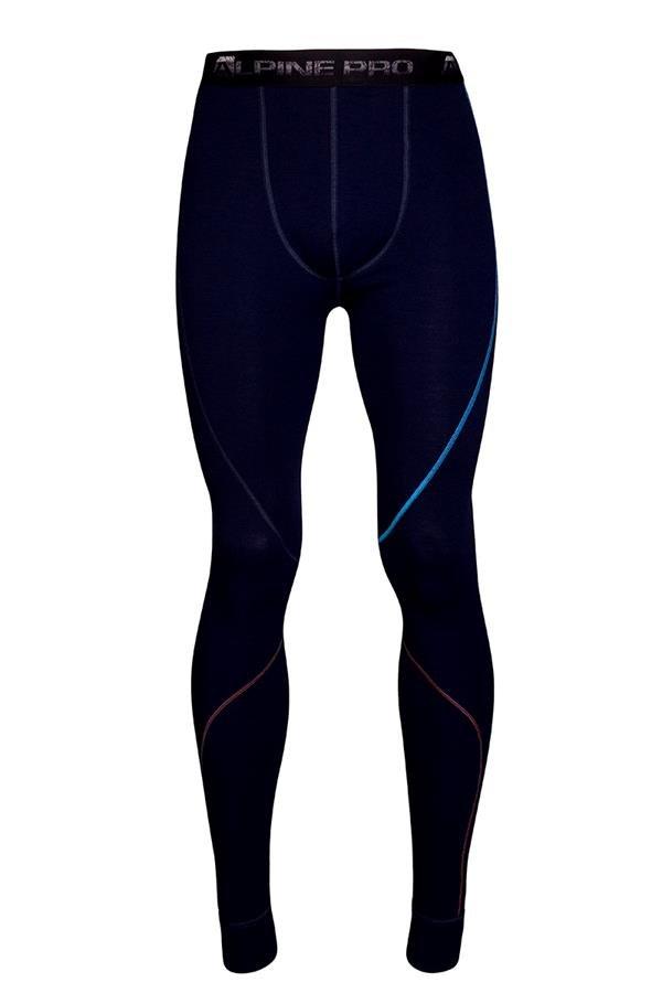 Černé pánské funkční kalhoty Alpine Pro - velikost XS-S