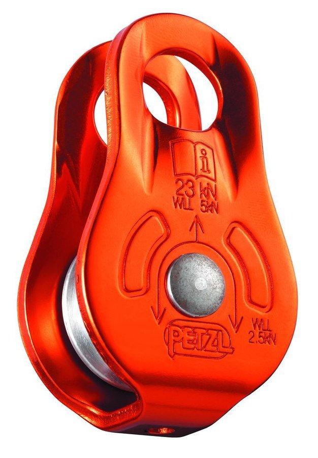 Oranžová kladka Petzl
