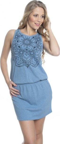 Modré dámské šaty Sam 73 - velikost XXS
