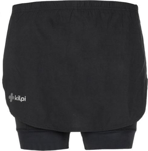 Černá dámská sukně Kilpi, Černé dámské cyklistické kraťasy Kilpi