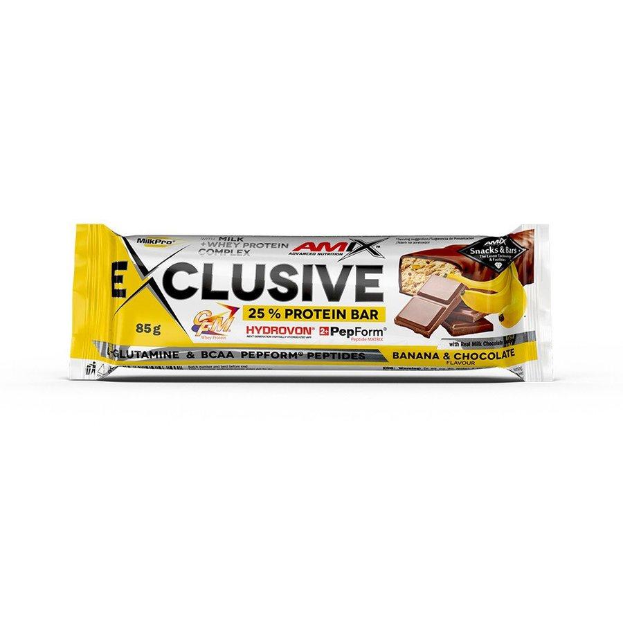 """Proteinová tyčinka Amix """"čokoláda"""" a """"kokos"""" - 85 g"""