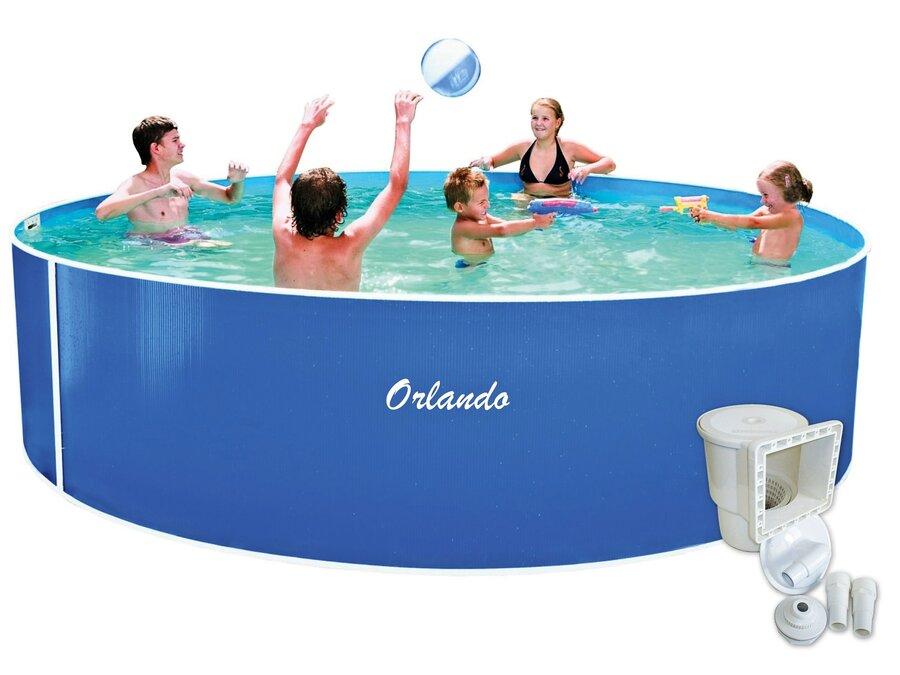 Nadzemní kruhový bazén Marimex - průměr 457 cm a výška 107 cm
