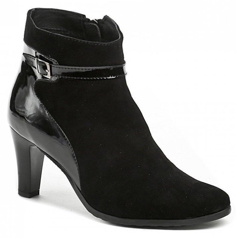 Černé dámské zimní boty Abil - velikost 37 EU