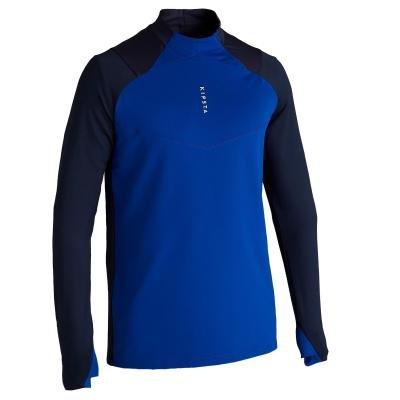 Modrá pánská běžecká mikina Kipsta
