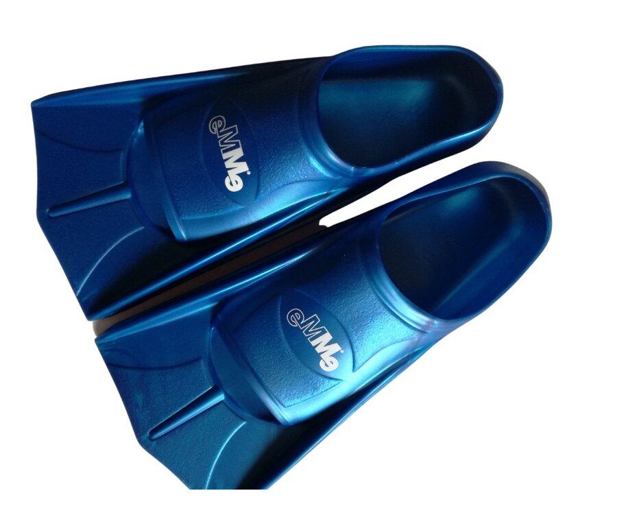 Modré plavecké krátké ploutve POWER JET, Emme