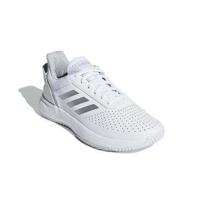 Bílá dámská tenisová obuv Courtsmash, Adidas
