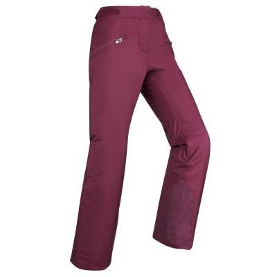 Fialové dámské lyžařské kalhoty Wed'ze - velikost L