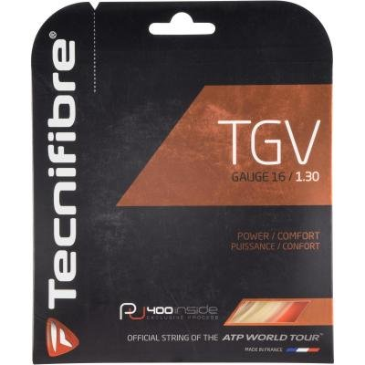 Béžový tenisový výplet TGV, Tecnifibre - průměr 1,30 mm