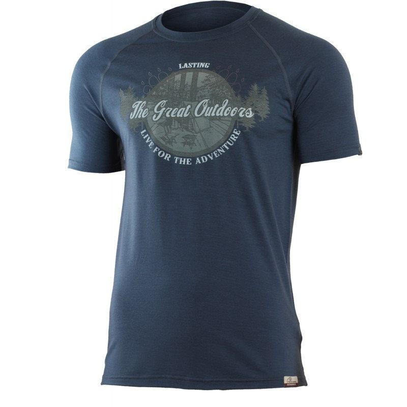 Pánské funkční tričko s krátkým rukávem Lasting