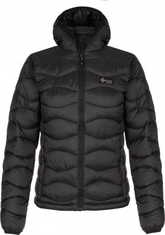 Černá zimní dámská bunda s kapucí Kilpi