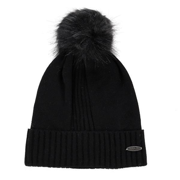 Černá zimní čepice Alpine Pro - velikost L