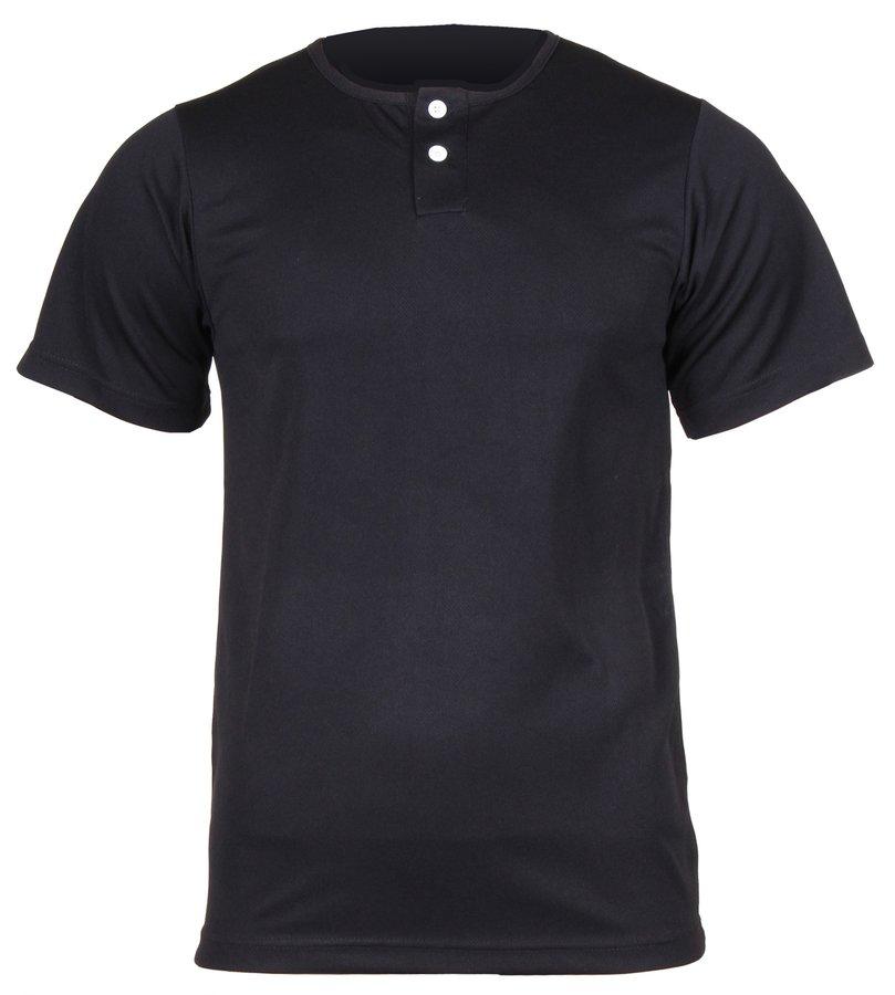 Černý baseballový dres Pro Nine