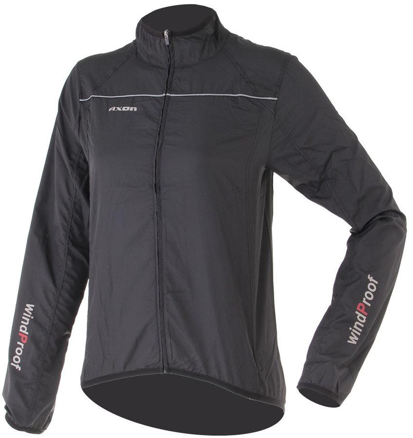 Černá dámská běžecká bunda Nippon, Axon