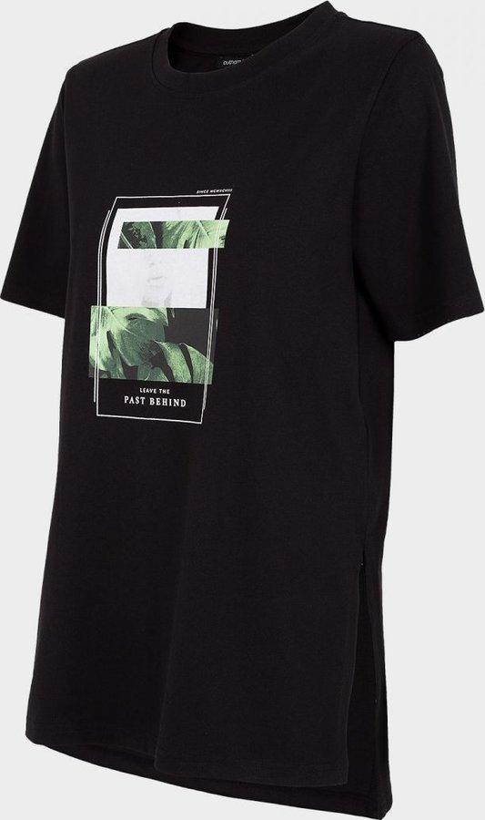 Černé dámské tričko s krátkým rukávem Outhorn