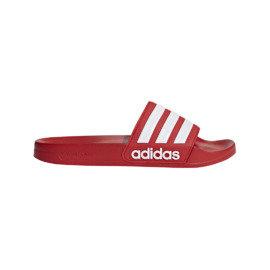 Červené pánské pantofle Adidas