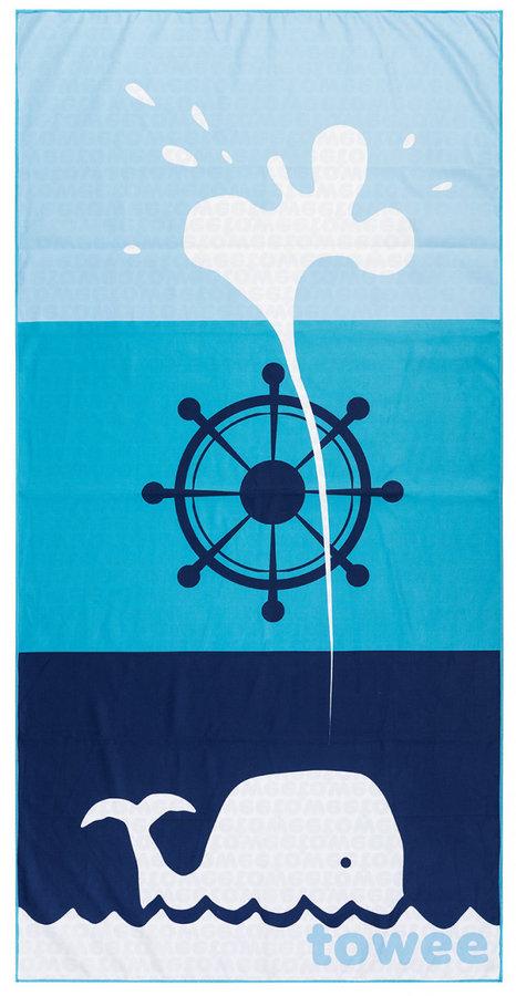 Modrý rychleschnoucí ručník Towee