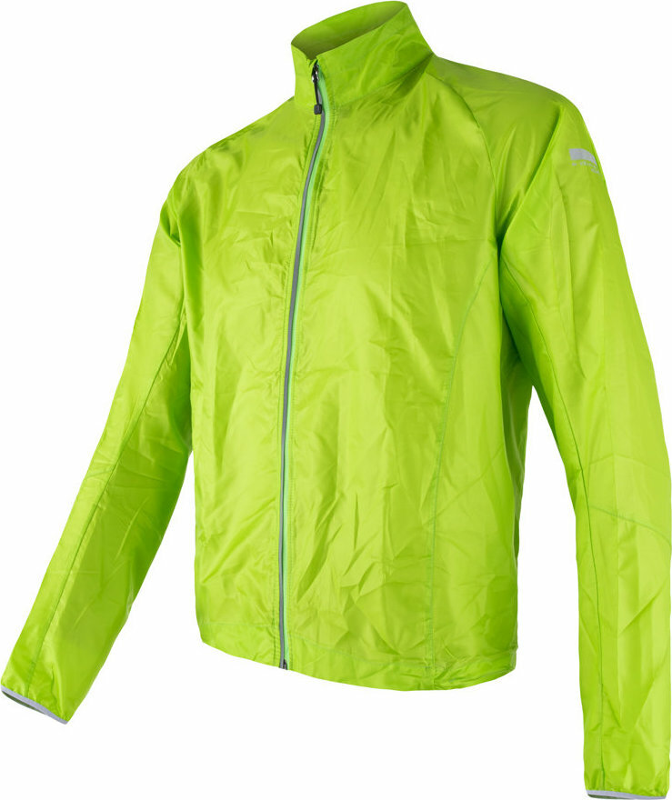 Zelená pánská cyklistická bunda Sensor