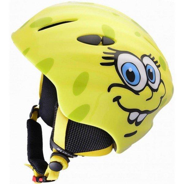 Žlutá dětská lyžařská helma Blizzard - velikost 48-52 cm