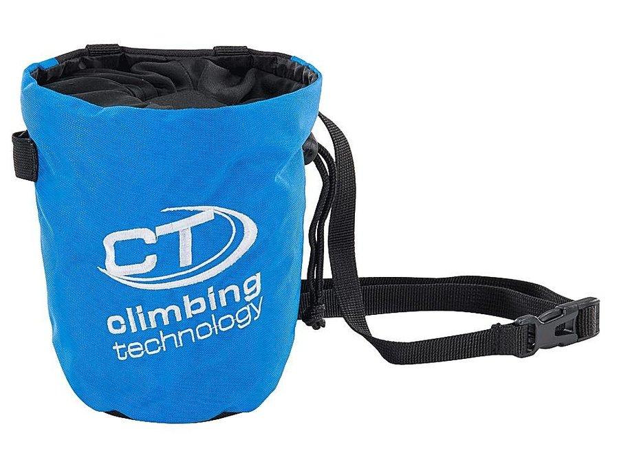 Modrý pytlík na magnézium s páskem Climbing Technology