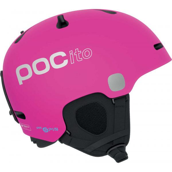 Růžová dívčí lyžařská helma POC