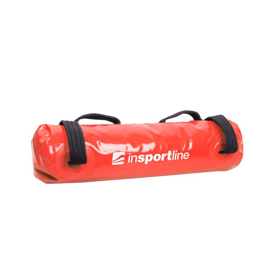 Červený posilovací vak FitBag Aqua, Insportline - 23 kg