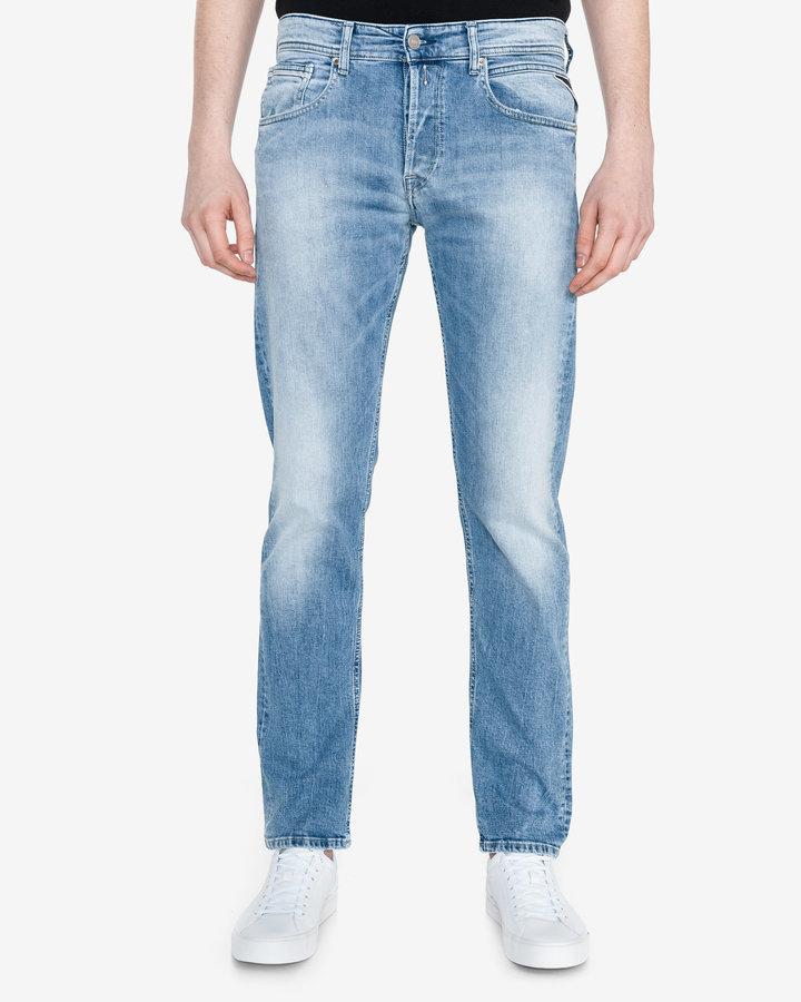 Modré pánské džíny Replay - velikost 32