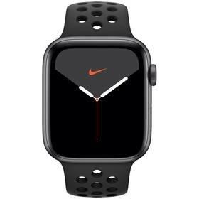 Černé chytré hodinky Watch Nike Series 5 GPS, Apple
