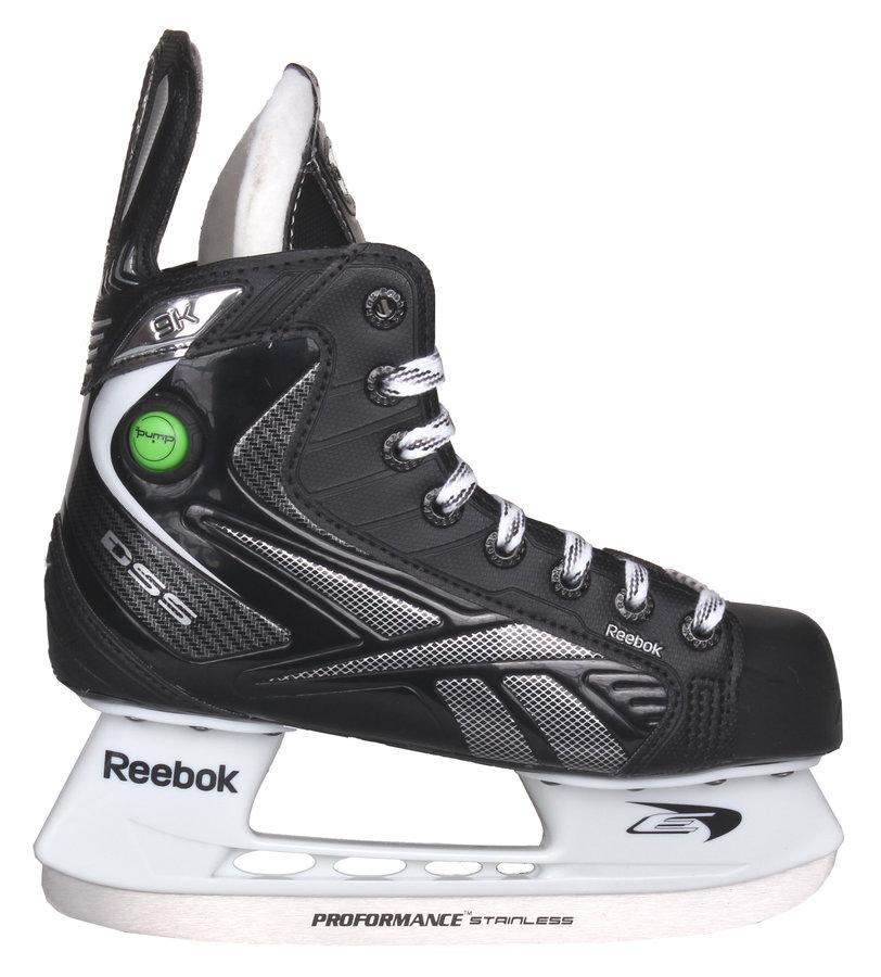 Hokejové brusle - junior 9K Pump, Reebok - velikost 37 EU