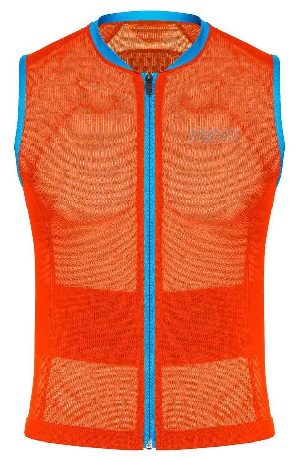 Oranžové chrániče na snowboard na záda Relax