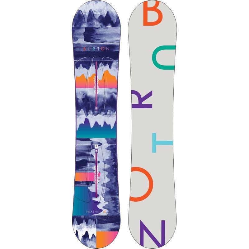 Snowboard bez vázání Burton - délka 140 cm
