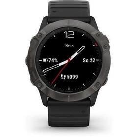 Černý sporttester Fenix6X Pro, Garmin