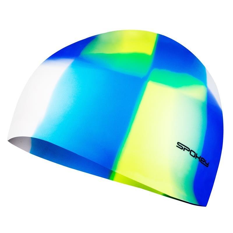 Různobarevná pánská nebo dámská plavecká čepice ABSTRACT, Spokey