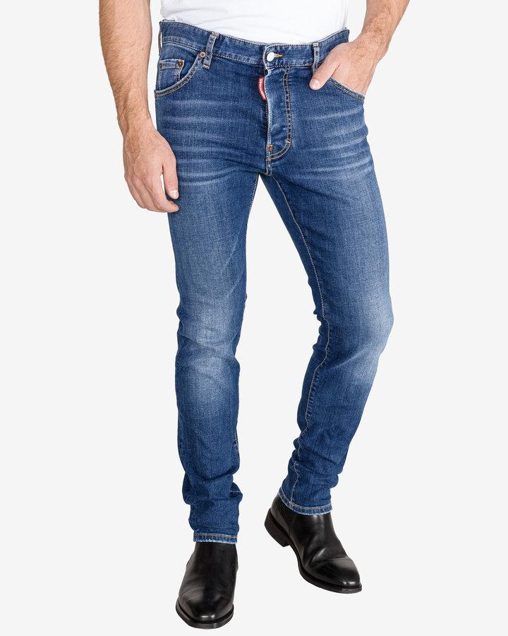 Modré pánské džíny DSQUARED2