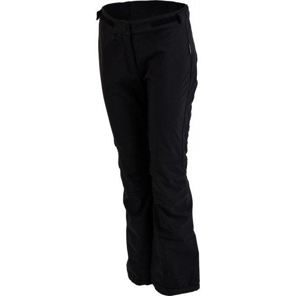 Černé softshellové dámské kalhoty Hi-Tec