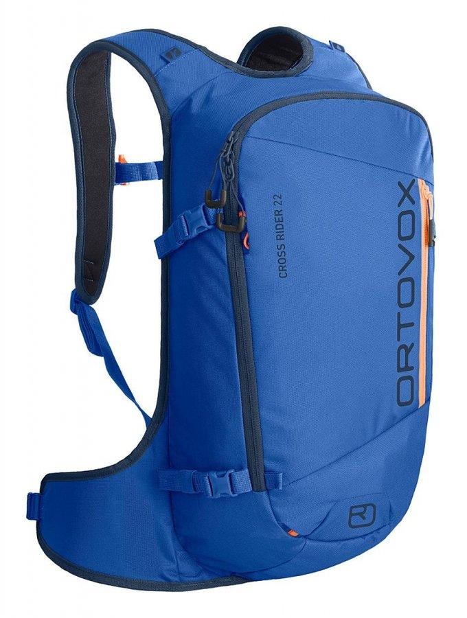 Modrý skialpový batoh Ortovox - objem 22 l
