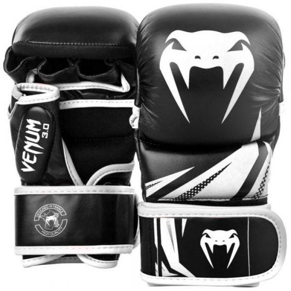 Bílo-černé boxerské rukavice Venum