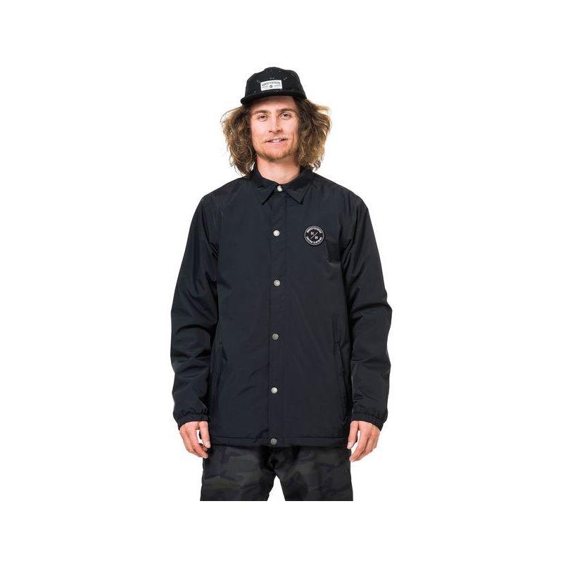 Černá pánská snowboardová bunda Horsefeathers - velikost M