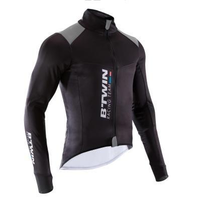 Černá pánská cyklistická bunda