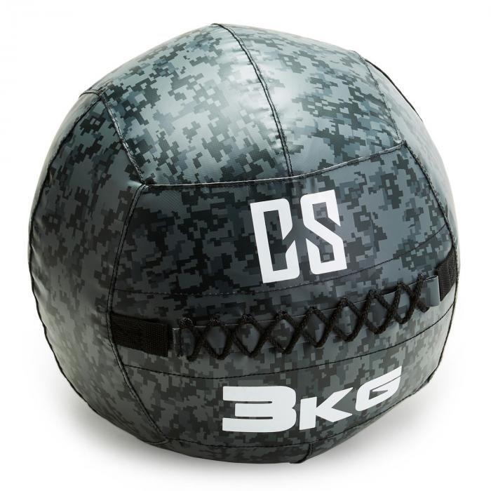 Medicinbal bez úchopů Wall Ball, Capital Sports - 3 kg
