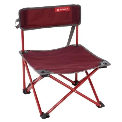 Kempingová židle - QUECHUA NÍZKÁ ŽIDLE NA KEMPOVÁNÍ