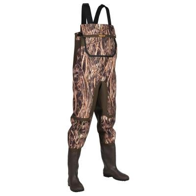 Hnědé brodící kalhoty 500 DUCK, Solognac