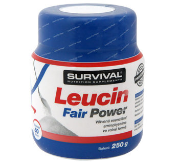 L-Leucin - Survival Leucin Fair Power 250 g