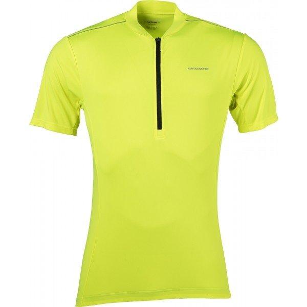 Žlutý pánský cyklistický dres Arcore