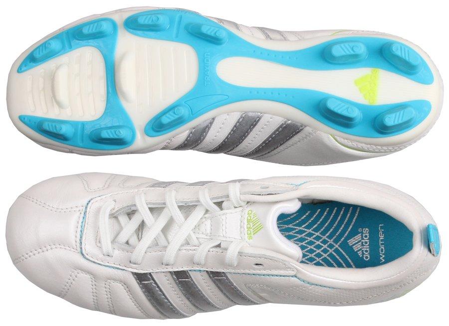 1c5b78506ab91 Bílé dětské kopačky lisovky adiNova IV TRX FG, Adidas - velikost 37 ...