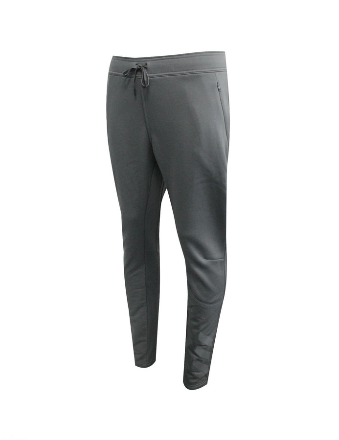 Šedé pánské tepláky Adidas - velikost S