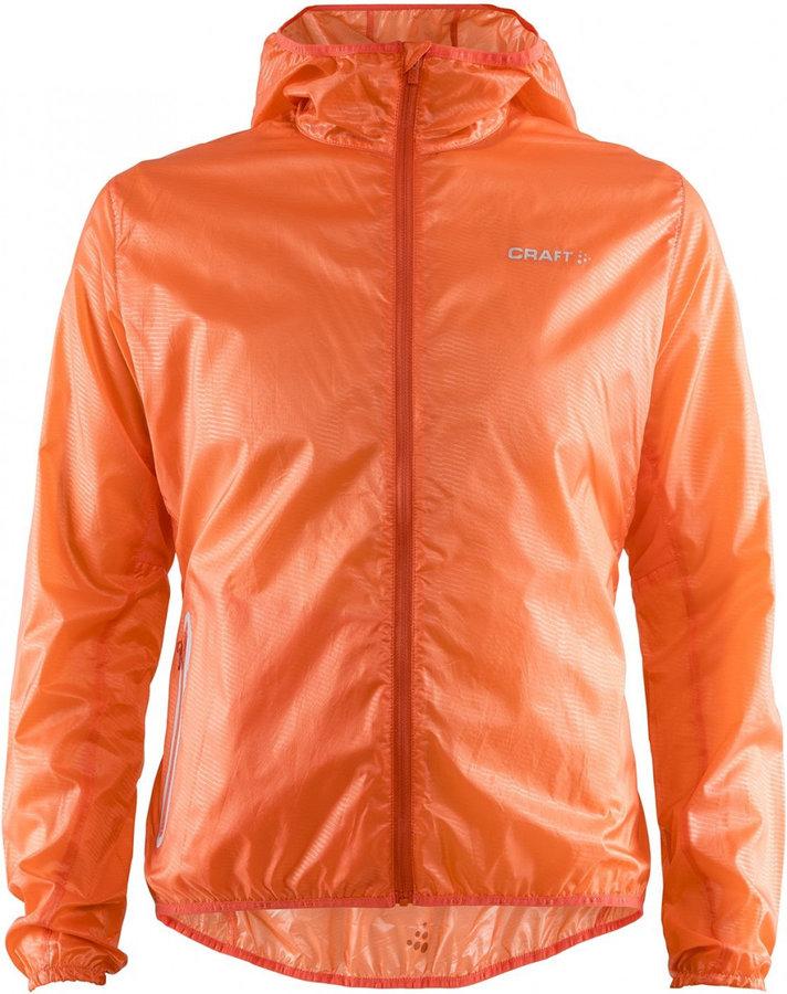 Oranžová dámská bunda na běžky Craft
